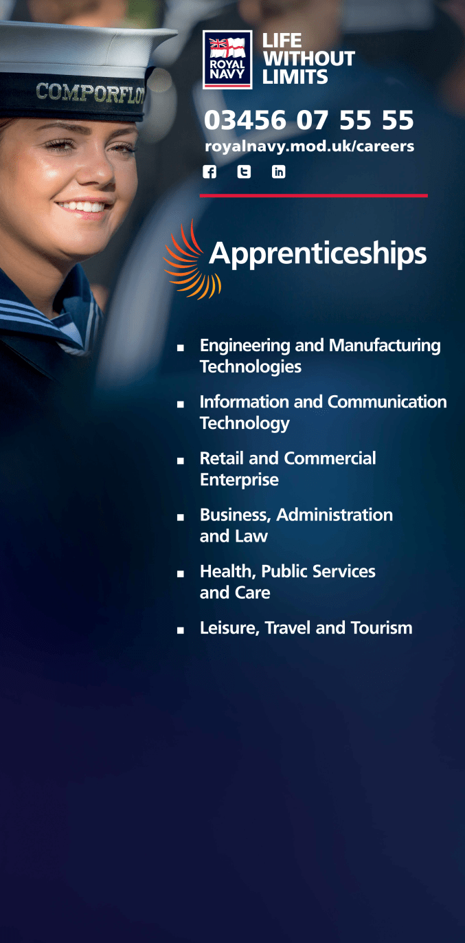 The Royal Navy at the National Apprenticeship Events & Conference
