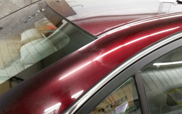 Toyota Requires Clear Coat Blending to Stop in Body Repairs