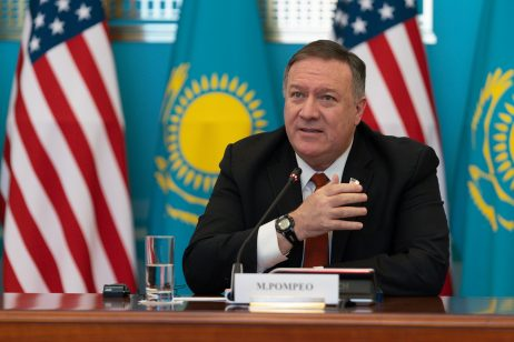 Pompeo visits Kazakhstan and warns of China
