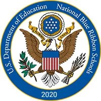National Blue Ribbon Schools Program Logo - John Rex Charter School