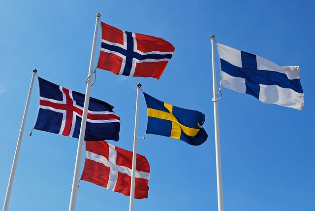Nordic Flags - National Collective website