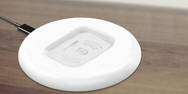 A wireless charger