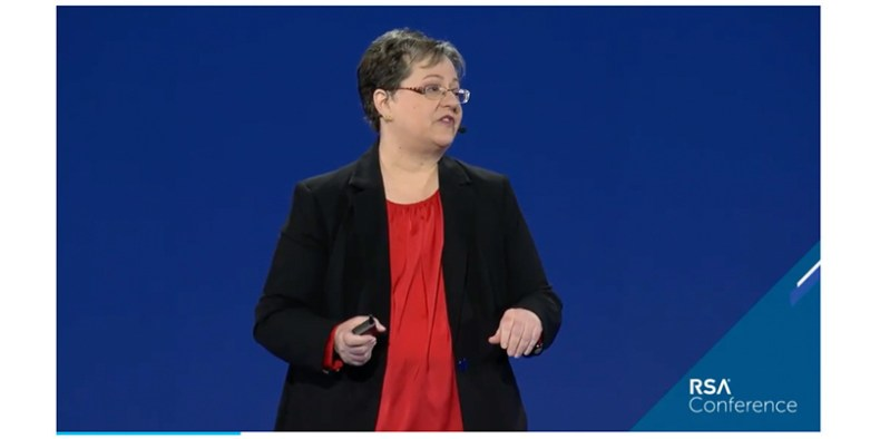 Duo Security's Wendy Nather delivered the RSA 2020 keynote
