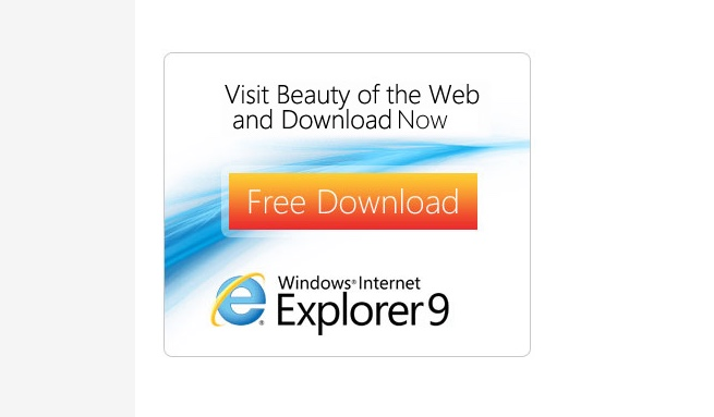 IE9 beauty of the web