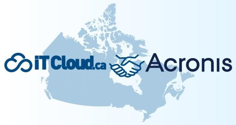 Acronis and ITCloud.ca (CNW Group/ITCloud.ca (IT Cloud Solutions))
