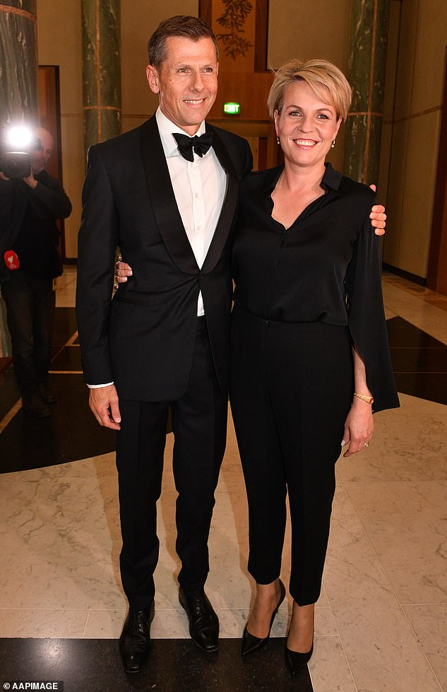 It's a major promotion for Michael Coutts-Trotter, 56 (pictured with former Deputy Leader of the Opposition Tanya Plibersek at theMid Winter Ball in 2018). Daily Mail Australia has previously told his story of redemption