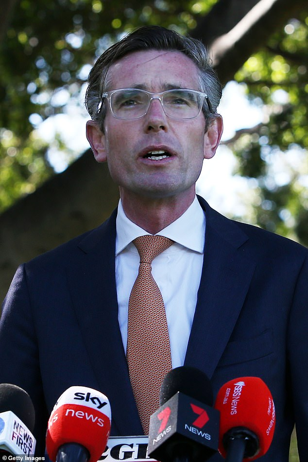 In one of his first acts as NSW Liberal Premier, Dominic Perrottet (pictured) ousted Jim Betts from his $644,850-a-year role as secretary of the Department of Premier and Cabinet before he had even started