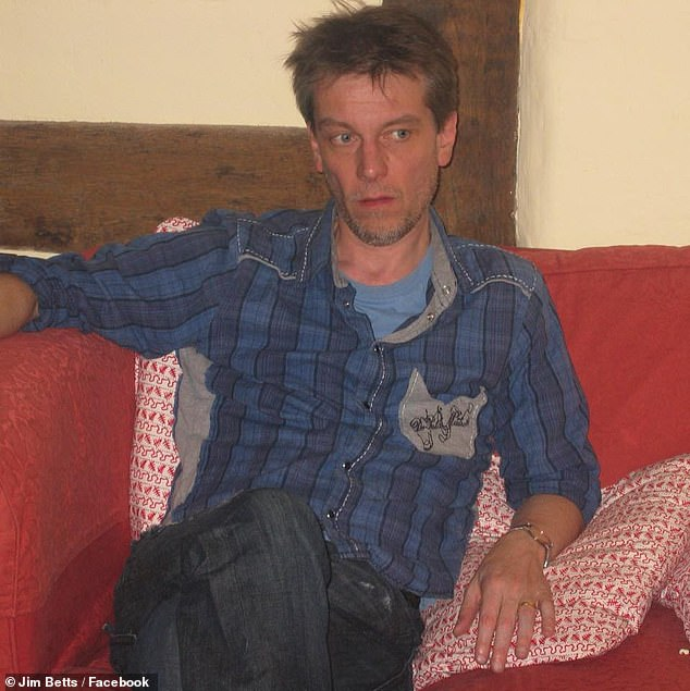 Mr Betts, a former British punk rocker, was appointed by Mr Perrottet's predecessor Gladys Berejiklian in July to start this month as the state's most powerful mandarin charged with implementing the government's key policies (he is pictured as a young man in the UK)