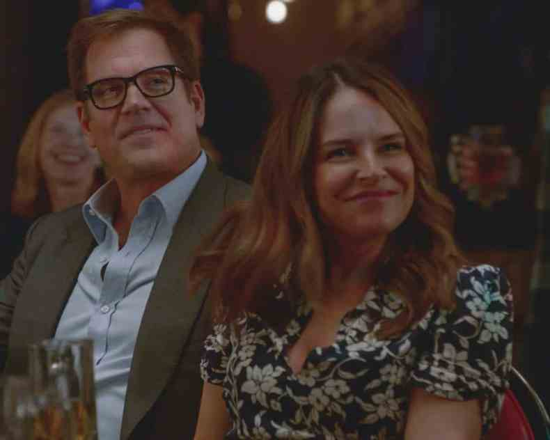"""BULL Season 6 Episode 1 """"Gone"""" Bull and the TAC team must call upon all their collective experience to locate BullÕs kidnapped daughter, and the abductor warns them not to go to the police. As Bull works to build the most important psych profile of his life, he begins to suspect the captor is someone connected to his past, on the sixth season premiere of BULL, on its new night, Thursday, Oct. 7 (10:00-11:00 PM, ET/PT) on the CBS Television Network, and available to stream live and on demand on Paramount+.Pictured L-R: Michael Weatherly as Dr. Jason Bull and Yara Martinez as Isabella 'Izzy' Col—n Photo: Screen Grab/CBS ©2021 CBS Broadcasting, Inc. All Rights Reserved"""