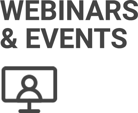 Webinars and Events