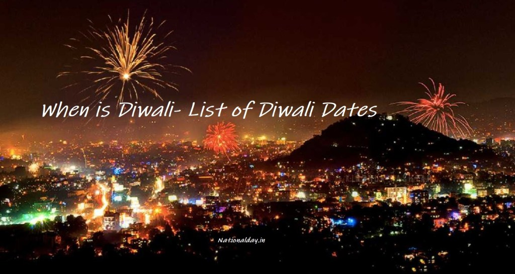 When is Diwali-2021 Diwali Date-Like every year, Diwali 2021 date in India, is on 04th November, the holy occasion of Diwali will be welcomed