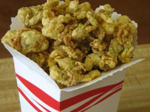 fried clams in box