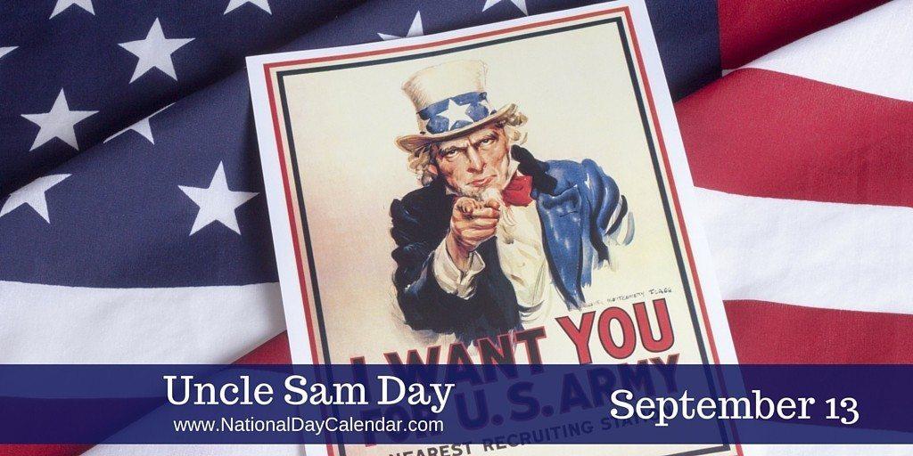 Uncle Sam Day - September 13