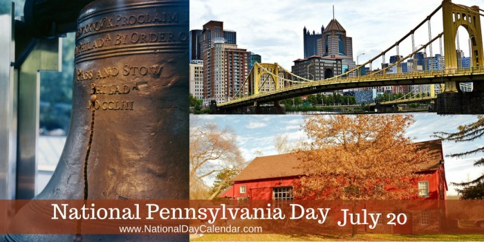 National Pennsylvania Day