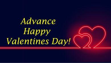 Advance Happy Valentines Day