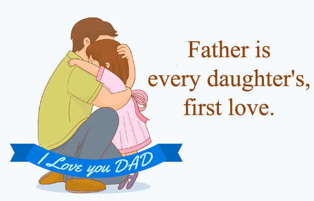 Father Slogan About Daughter