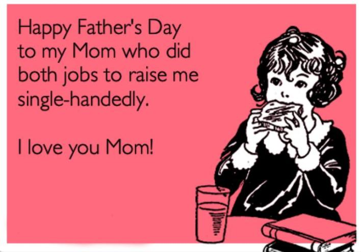 Fathers Day Messages for Single Mothers