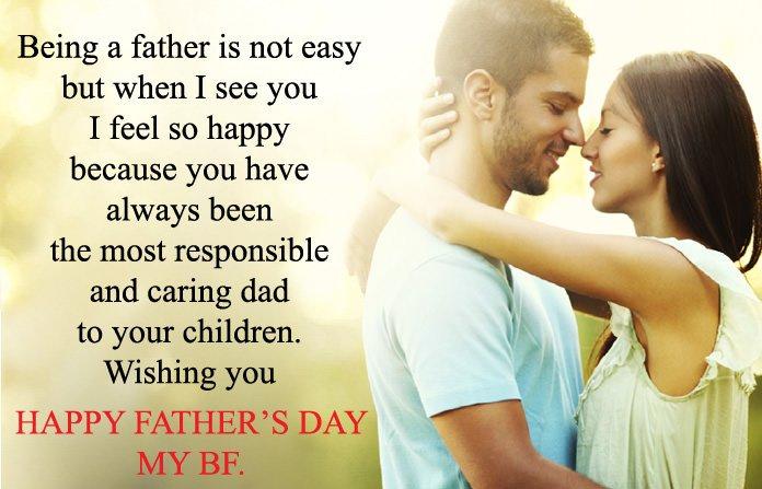Happy Fathers Day To Boyfriend