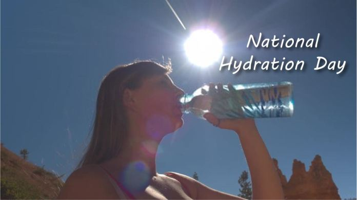National Hydration Day Activities