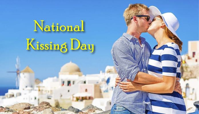 National Kissing Day Wishes