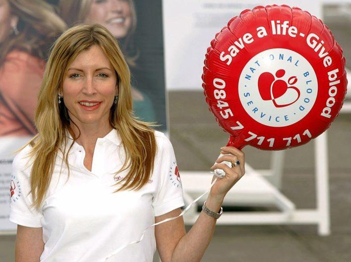 Mills Mccartney blood donor