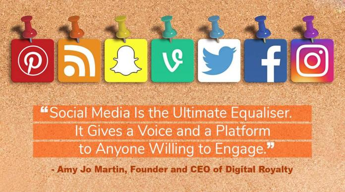 World Socia Media Day quote