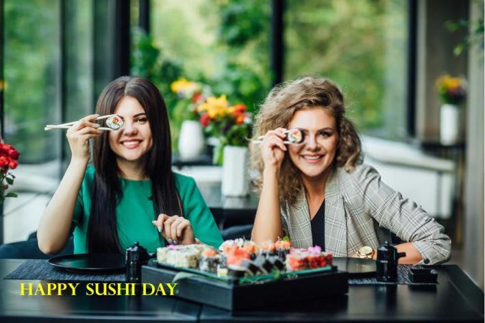 celebrate International Sushi Day