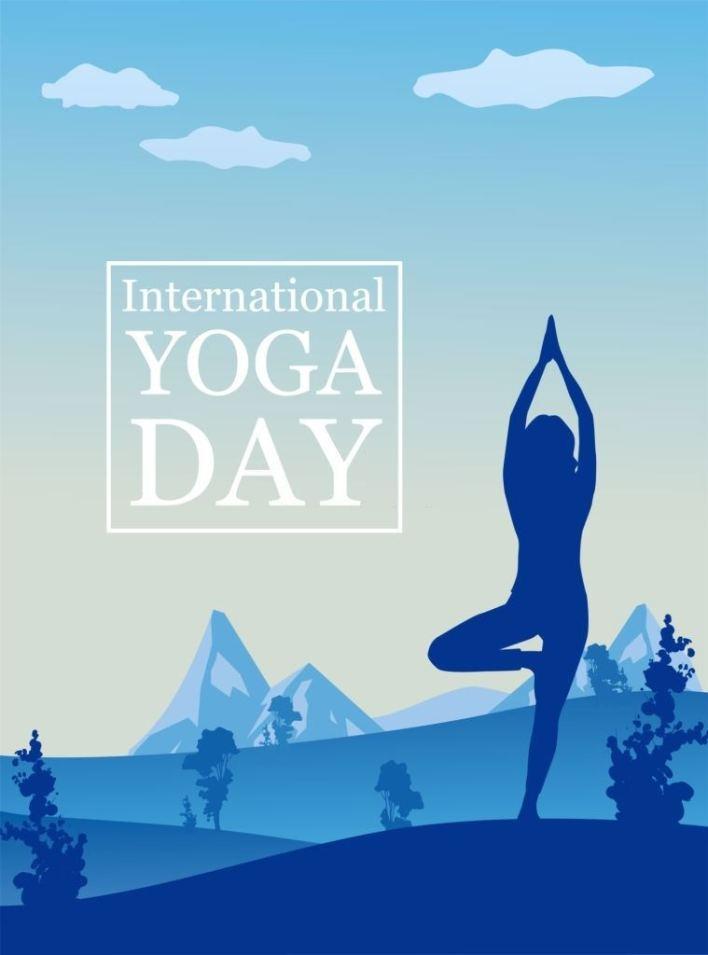 international yoga day poster