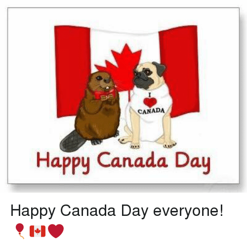 Canada Day Memes for Instagram