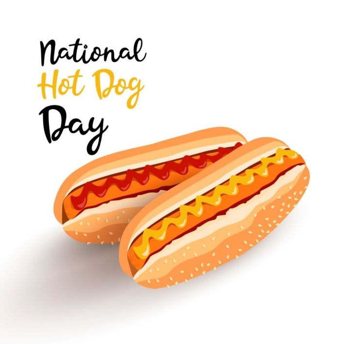 national hot dog day pictures
