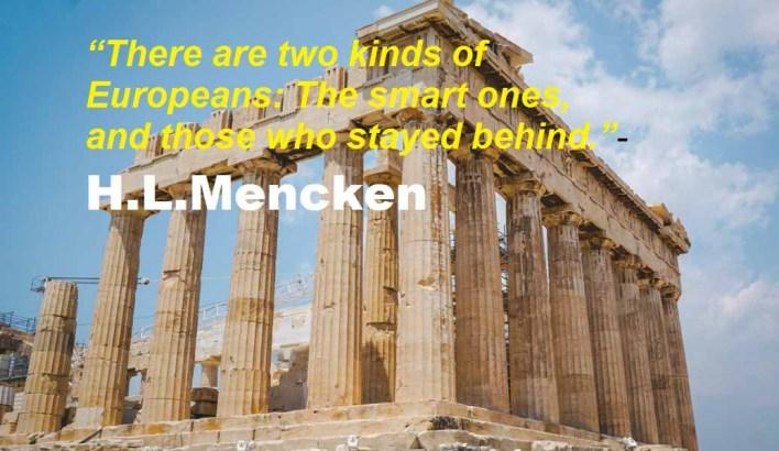 European Heritage Day Parthenon-Acropolis