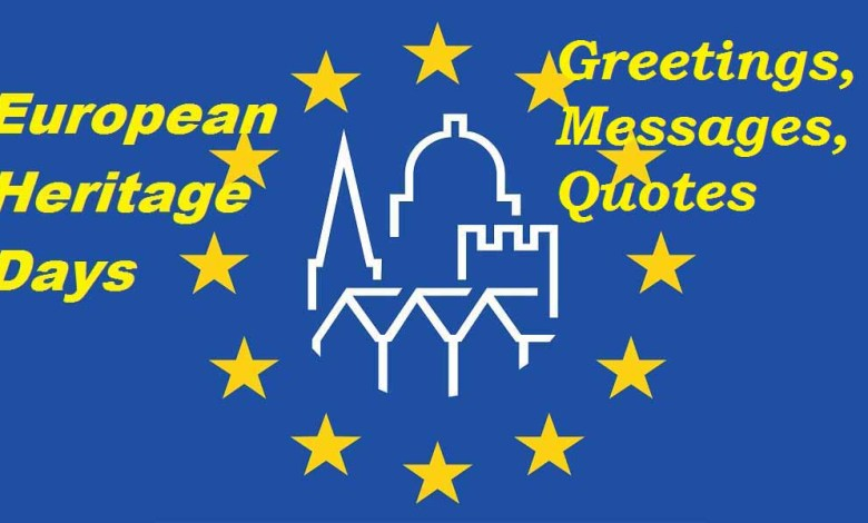 European Heritage Days messages wishes