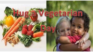 Hug a Vegetarian Day Cover Photo