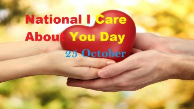 National I Care About You Day