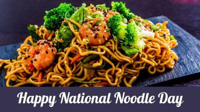 Happy National Noodle Day