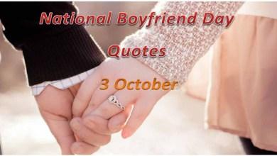 National Boyfriend Day Quotes