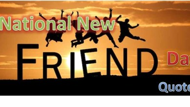 National New Friends Day Quotes