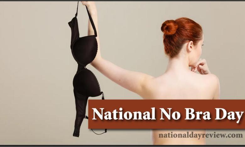 National No Bra Day Wishes
