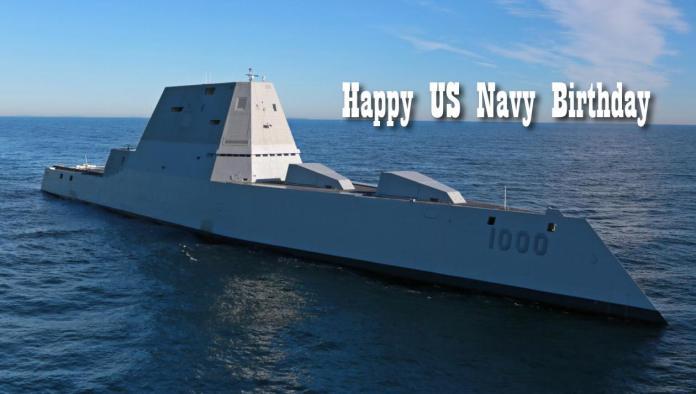 US Navy Birthday Theme