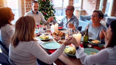 thanksgiving prayers for family dinner