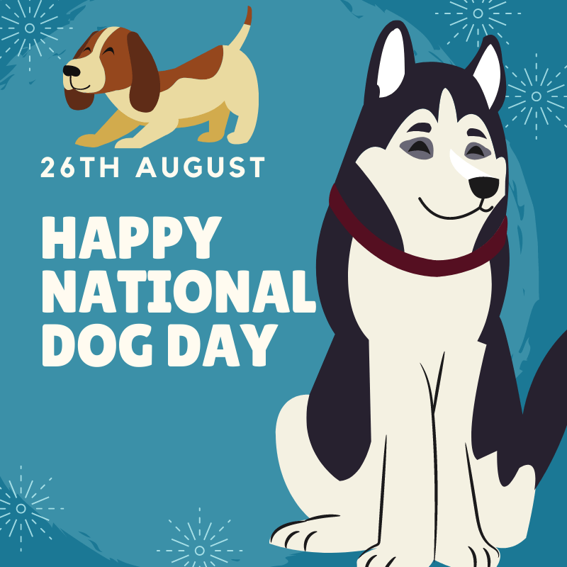 Happy National Dog Day Wishes Images Memes 2020 For Dog Lovers