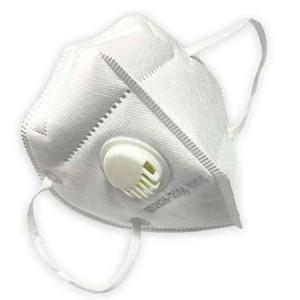 Masca faciala cu valva pentru protectie respiratorie