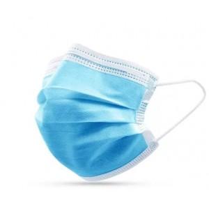 Set 50 bucati masti faciale din 3 straturi de unica folosinta pentru protectie respiratorie