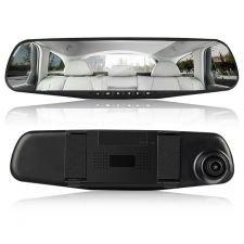 Oglinda Camera Video Auto MediaTek ML808 DVR FullHD Dubla cu Ecran 5 inchi cu camera de mers inapoi
