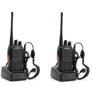 Set 2 statii radio portabila emisie receptie PROGRAMATAE in banda de licenta libera, Walkie Talkie, Baofeng BF-888S