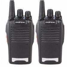 Set 2 statii radio portabile emisie receptie PROGRAMATE in banda de licenta libera, Walkie Talkie, Baofeng BF-777S