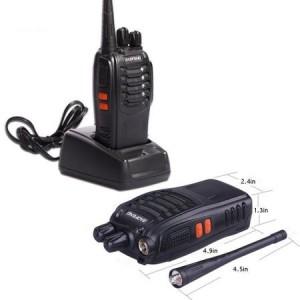 Statie radio portabila emisie receptie PROGRAMATA in banda de licenta libera, Walkie Talkie, Baofeng BF-888S