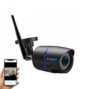 Camera de supraveghere BESDER 1MP Wifi 720P, CCTV wireless si fir ONVIF cu slot microSD (max 32GB)