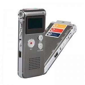 Mini Reportofon profesional MediaTek, memorie 16GB