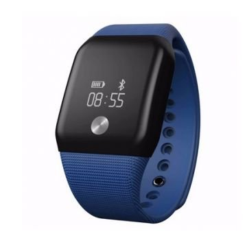 Smartwatch MediaTek™ Dinamic Heart Rate si Monitor de oxigen din sange - Blue